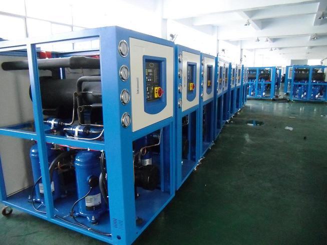 供应砂磨机用冷水机